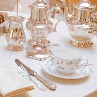 silver restaurant cutlery